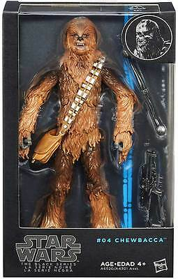 """Star Wars Black Series Wave 5 #04 Chewbacca 6"""" inch Action Figure Brand New Mint"""