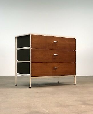 George Nelson | Steel Frame Chest by Herman Miller | Mid Century