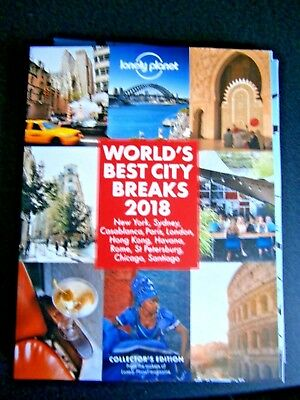 Lonely Planet Collector's Edition: World's Best City Breaks 2018 (new)