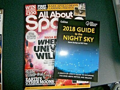 All about Space Magazine Issue 80 (new) 2018 With Free Guide Book
