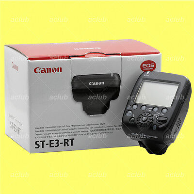 Genuine Canon ST-E3-RT Speedlite Transmitter STE3RT for 600EX-RT Flash