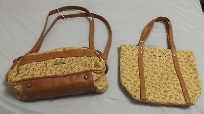 2 longaberger purses