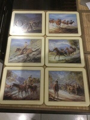 Jason Placemats Banjo Paterson Man From Snowy River