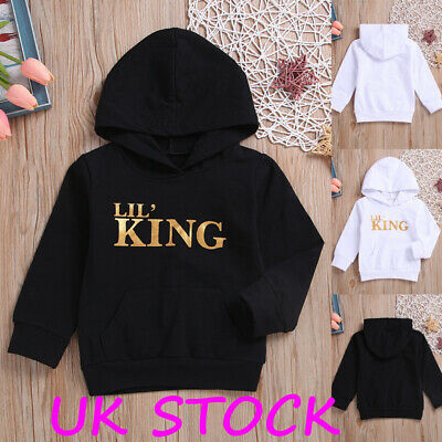 Infant Baby Boys Kids Hooded Tops Hoodies Clothes Long Sleeve Tracksuit T-shirt