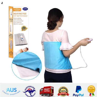Electric Therapy Heating Pad Relieve Body Stress Heat Treatment  Abdominal Back