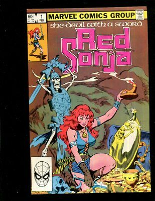 She-Devil With A Sword Red Sonja  #1 Marvel Comics Very Fine Plus  Xxiii