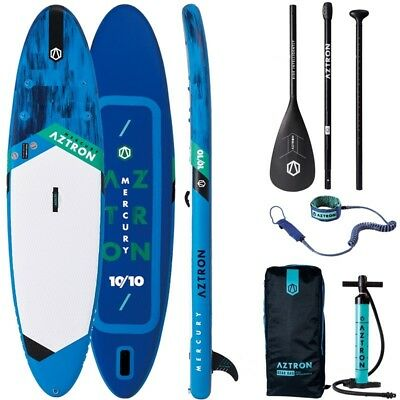DOPPELKAMMER SUP AZTRON MERCURY 10.10 inflatable Stand Up Paddle Board ISUP