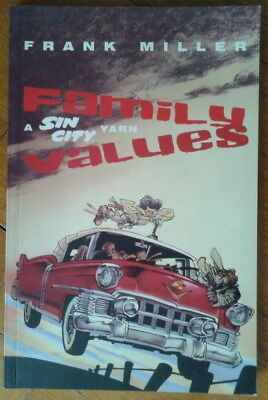 Sin City Family Values Frank Miller Titan Books Softcover Very Good Condition