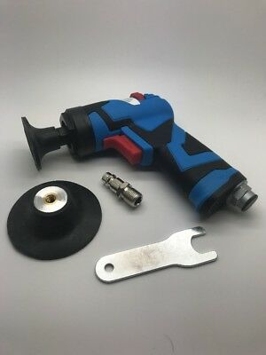 Duren Tools 75mm Air Angle Sander Roloc Compatable Smart Repair Alloy Wheels