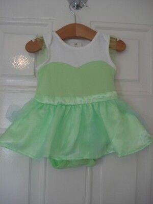 Disney 3 To 6 Months Tinkerbell Romper Dress Dressing Up 3 - 6 Next Day Post