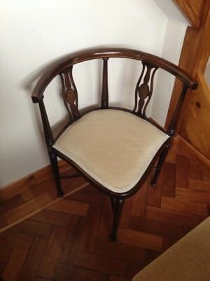 Reproduction Corner  Chair