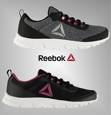 Ladies Genuine Reebok Sport Breathable Speed Lux Trainers Running Shoes  Size 3-8 183741cbd