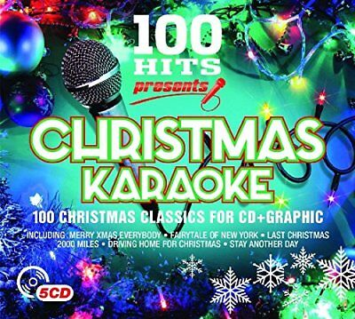 100 Hits - Presents Christmas Karaoke [CD]