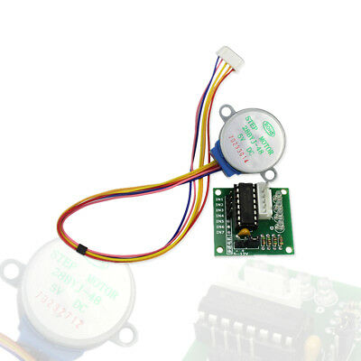 5V 4 Phase  Gear Step Motor 28BYJ-48 + ULN2003 Driver Board for arduino Diy Kit