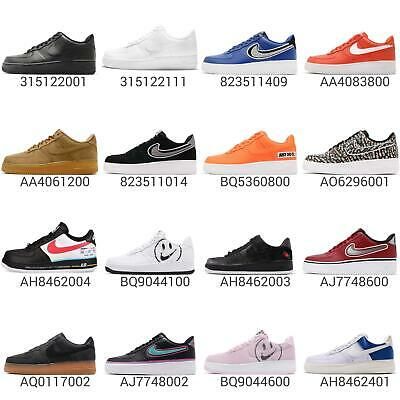 lowest price 3a8d5 30f1a Nike Air Force 1 07 LV8 AF1 One Low QS Men Sneakers Shoes Pick 1