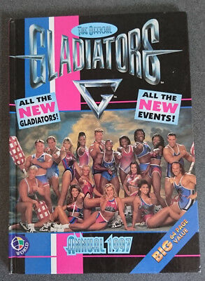 Gladiators Annual 1997 in very good condition unclipped