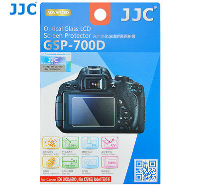 JJC GSP700D GLASS LCD Screen Protector for CANON EOS 700D 650D X7i X6i T5i _AU