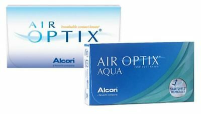 Air Optix AQUA  1 x 6er Box Monatslinsen (Minus-Stärken)  - ALCON/Ciba -