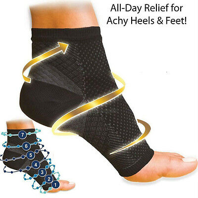 Fasciitis Foot Angel Ankle Support Sleeve Anti Fatigue Swelling Relief Socks AU