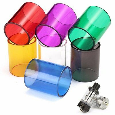 Replacement Transparent Glass Tube Cup For Aspire Cleito Tanks - Multi- Colors