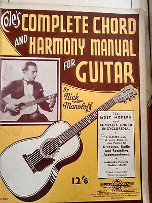 Vintage Collection of Sheet Music for Guitar