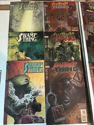 Swamp Thing Lot 32 Books