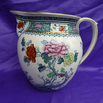 Beautiful Antique Losol Ware Chusan Jug Keeling & Co