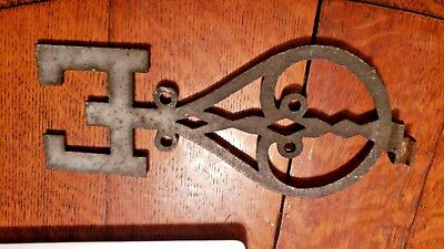 "Vintage Cast Iron Weathervane Directional ""east Letter"""