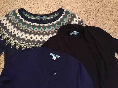 Lot of 3 Old Navy Maternity sweaters size XS