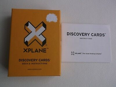 XPLANE - Discovery Cards Role Play Business Sales etc Visual Thinking