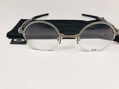 New Authentic Oakley OX5085 0243 MADMAN Eyeglasses 43/21/146 with Oakley Pouch
