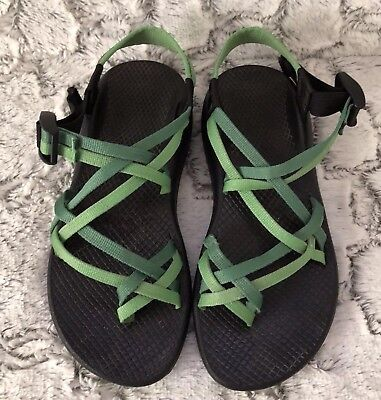 1813a6f6db9d Chaco Womens Size 8 Green ZX 2 Classic Sport Sandals Shoes Hiking Trail
