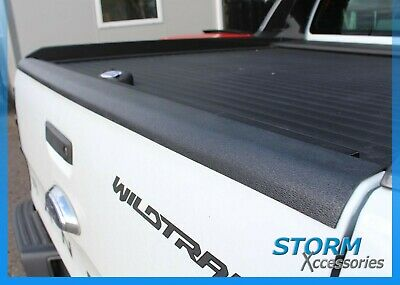 Ford Ranger T6 2012-2018 Tailgate Top Rail Liner - Bed Rail Cap Protector -1 pc