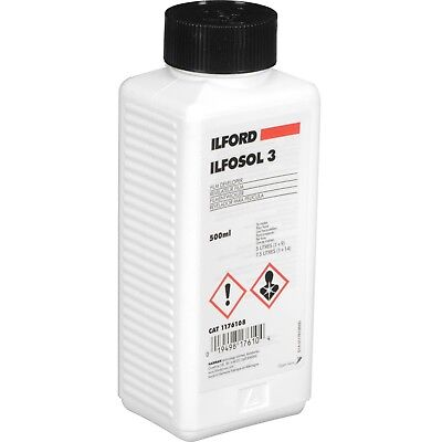 Ilford Ilfosol 3 500ml - Black & White Film Developer - 500ML