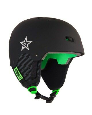 Casque Sports Nautiques - Jobe base Helmet Black - wakeboard - skis