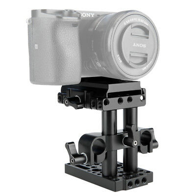 US Niceyrig Quick Release Mount Base QR Plate for Manfrotto Standard Accessory