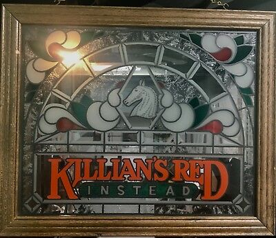 Killians Red Instead Frosted - Beer Sign Bar Pub Decor - Free Shipping