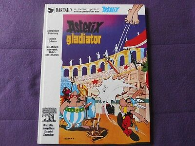 Astérix Gladiator-E0-1977-Version latin-bon état-rare-Dargaud