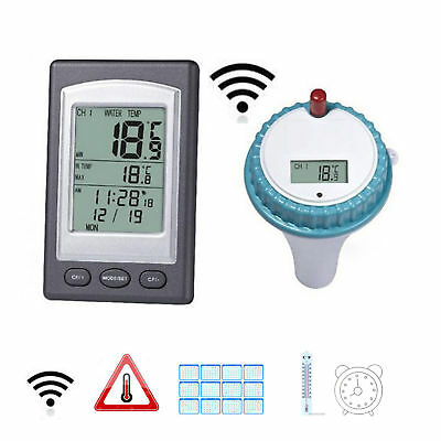 LCD Digtal Wireless Floating Swimming Pool Water Thermometer Spa Temperature US