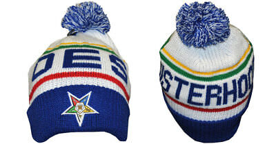Order of the Eastern Star OES Pom Beanie-New!