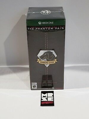 Metal Gear Solid V The Phantom Pain Collector's Edition (Microsoft Xbox One) New
