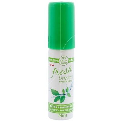 fresh breath - Spray buccal à la menthe - 18ml