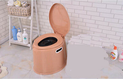 E21 Outdoor Indoor Portable Toilet Pedestal Pan Camping RV Caravan Parts M