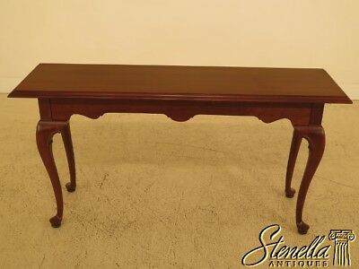 30092EC: ETHAN ALLEN Georgian Court Cherry Sofa Table