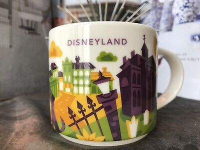 Disney Parks Disneyland Haunted Mansion You Are Here Starbucks Mug 2018 NEW