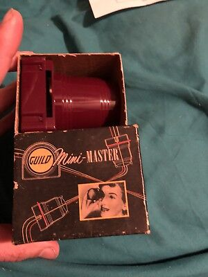"Vintage Craftsman Guild Mini~Master, 2 x 2"" 35 mm Slide Viewer w/ Original Box"