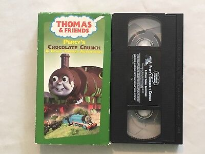 THOMAS & FRIENDS Percy's Chocolate Crunch VHS TAPE 2003 ...