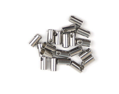 (Pack of 20) Stop Motion Armature Rod End Caps (4mm opening / hole 2.5mm)