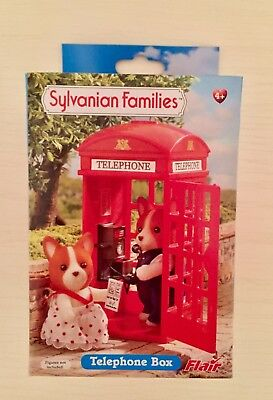 Sylvanian Families Red Telephone Box New Boxed