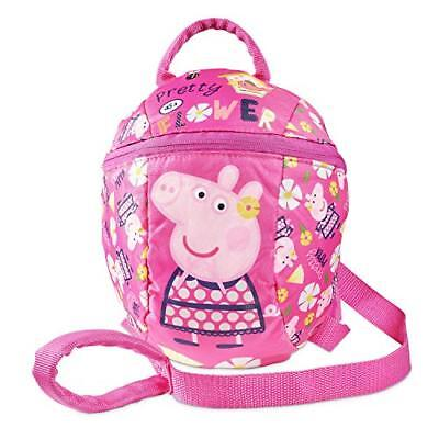Peppa Pig Backpack with Reins  Toddler Baby Kids Girls Backpack with detachable